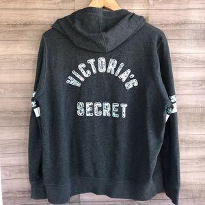 Victoria's Secret | Angels Sequin Zip Hoodie XL